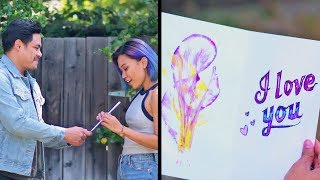 Video Show Your True Colors With Easy Painting Techniques! DIY Arts and Crafts by Blossom MP3, 3GP, MP4, WEBM, AVI, FLV Juli 2018