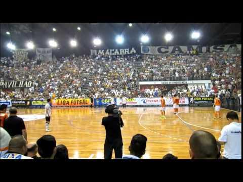 Carlos Barbosa - Futsal. Corinthians 7 x 2 Carlos Barbosa. 37 minutos de bola rolando e a festa da torcida.