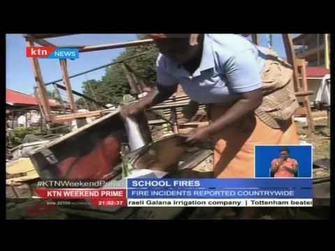President Uhuru Kenyatta has put school arsonists on notice