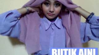 Tutorial Hijab 1 Paris Segi Empat