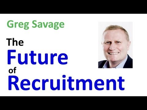 Recruitment - Greg Savage, writer of The Savage Truth recruitment blog, talks to Shane McCusker of Intelligence Software about the Recruitment Industry and how it needs to adapt itself to the current market....