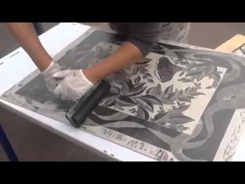Lino gravure (видео)