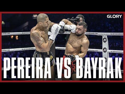 GLORY 74: Alex Pereira vs. Ertuğrul Bayrak (Middleweight Title Bout) - Full Fight
