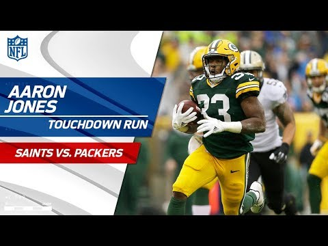 Video: Aaron Jones Carries Green Bay on Big Opening TD Drive! | Saints vs. Packers | NFL Wk 7 Highlights