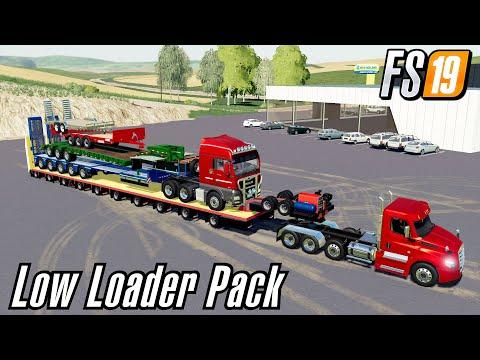 Lode King Lowboy 50 ton v1.0