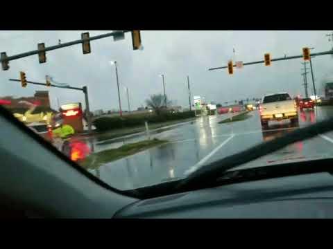 Timberlake Road Tornado damage..