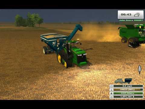 Farming Simulator Saturday: More Realistic John Deere Harvest