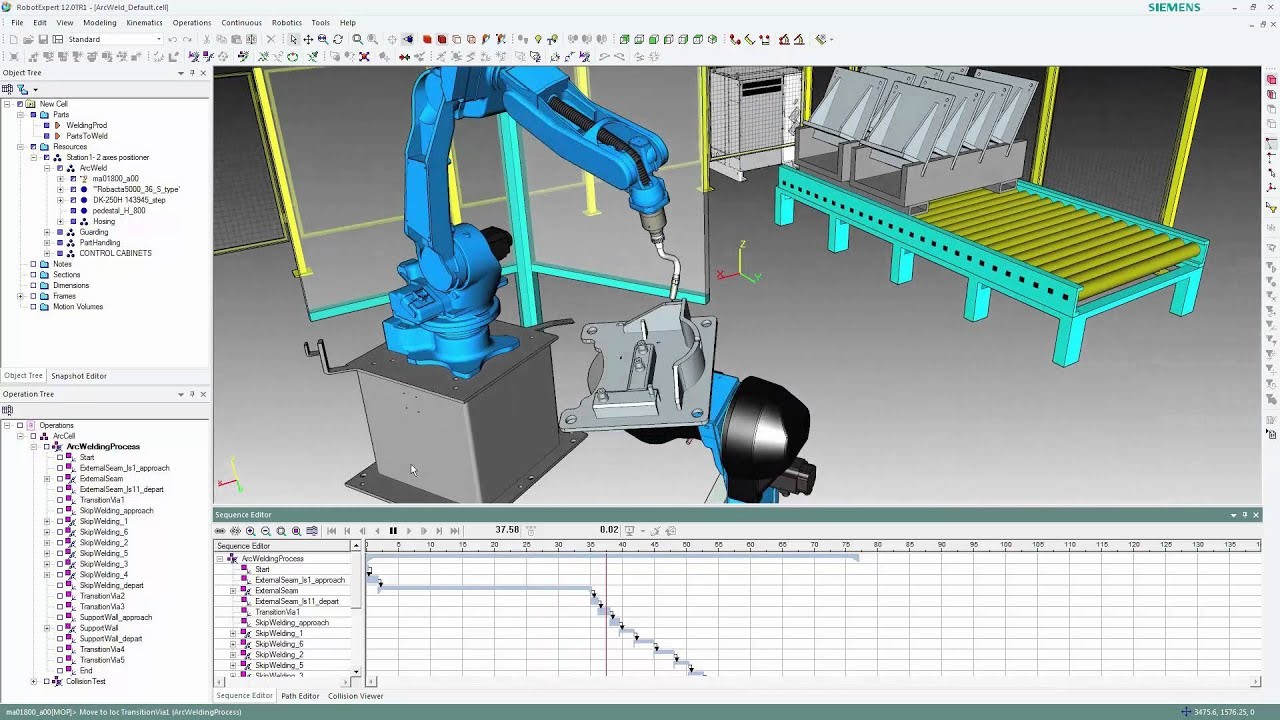RobotExpert Getting Started 3 - Simulation