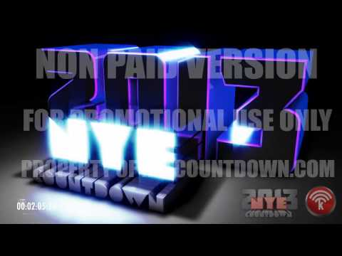 New Years Eve DJ Countdown 2013 | English or Spanish (promotional use only)