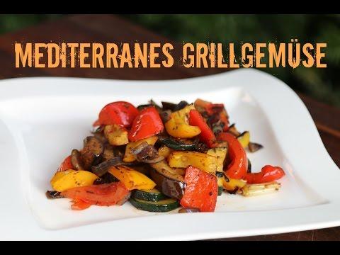 Mediterranes Grillgemüse - Beilagenklassiker vom Grill