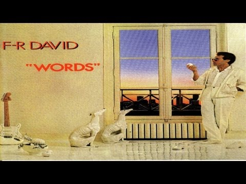 Tekst piosenki F.R. David - Words po polsku