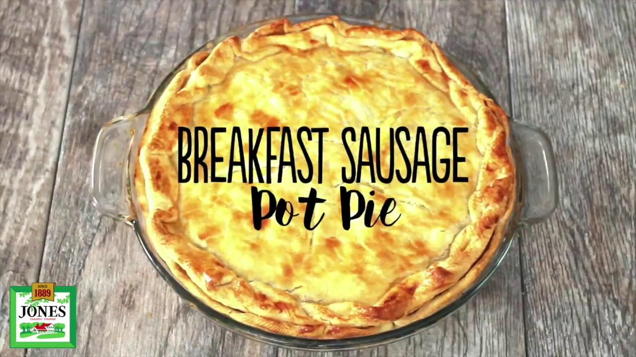 Breakfast Sausage Pot Pie