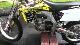 1. 2007 RMZ450 Walkaround and Review FMF Megabomb and 4.1 Tianium Pipe