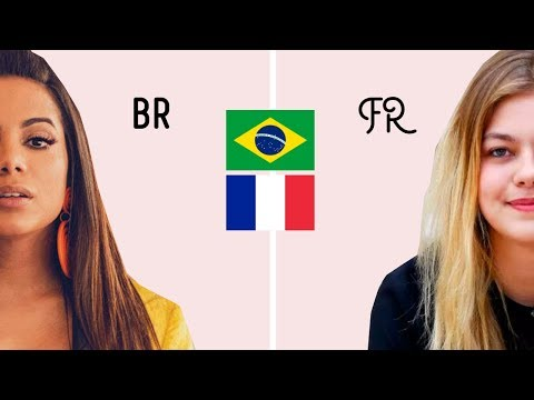 MULHERES brasileiras x francesas: 5 diferenças