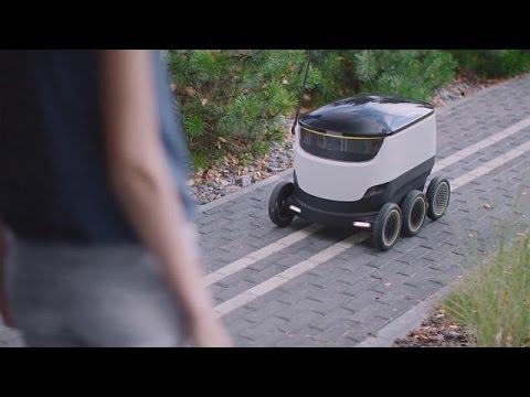 Έρχονται τα ρομπότ κούριερ – science