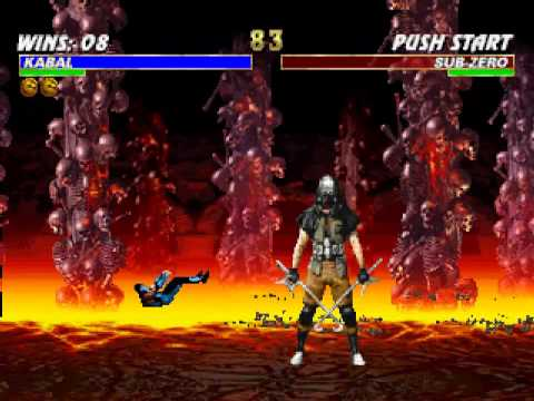 mortal kombat trilogy playstation fatalities