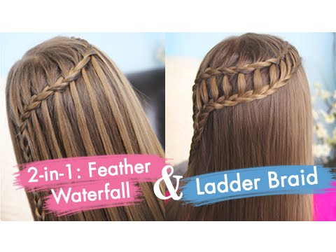 ladder - You all have seen our Ladder Braid Ponytail video we uploaded two weeks ago, and may have noticed that it was one of our more popular of recent videos. We wa...