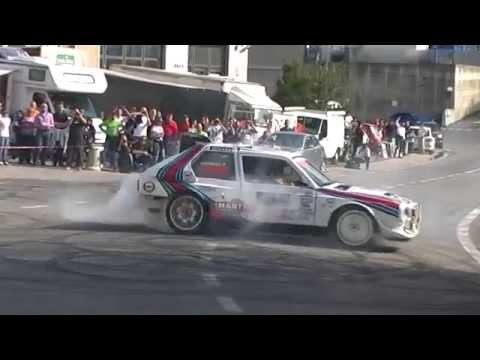 show di una lancia delta s4 al rally legend 2012