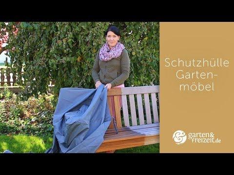 ▶ GARTENMÖBEL SCHUTZHÜLLE | 5 goldene Regeln zur Gartenmöbel Abdeckung unter eine Schutzhülle
