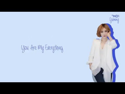 Video Gummy (거미) - You Are My Everything Lyrics (Han/Rom/Eng) download in MP3, 3GP, MP4, WEBM, AVI, FLV January 2017