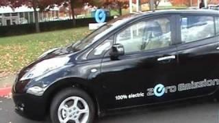 Nissan Leaf  2011 -тест драйв  (test Drive)