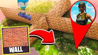 BIGGEST WALL WARS - Fortnite Playground Custom Gamemode
