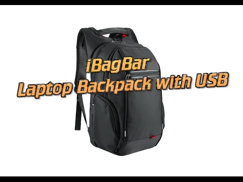 iBagBar Laptop Backpack with USB Review (20% Discount Code!)