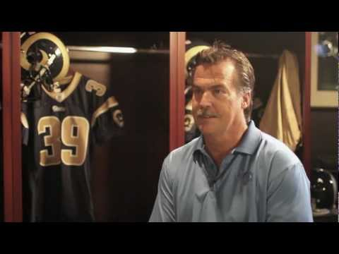 Mustache Interview With St. Louis Rams Head Coach Jeff Fisher