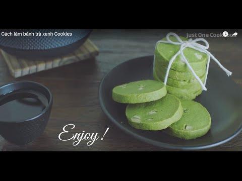 Cách làm bánh Cookies Trà xanh thơm ngon lạ miệng vào dịp tết