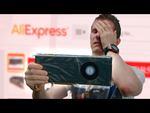 Cheap AliExpress Graphics Cards - SCAM??? (видео)