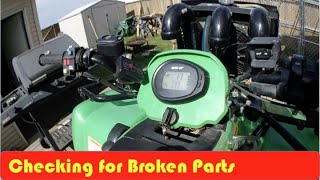 4. Arctic Cat H1 Oil Change And Screen Inspection DIY