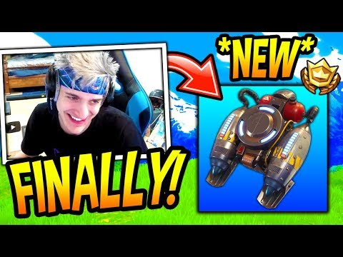 NINJA REACTS TO THE *NEW* JETPACK COMING BACK TO FORTNITE! Fortnite SAVAGE & FUNNY Moments