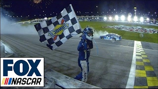 Martin Truex Jr. Wins at Kansas   2017 KANSAS   FOX NASCAR
