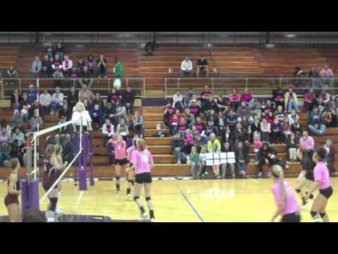 Dig Pink VolleyBall vs Hesston