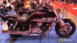 5. 2011 Hyosung Aquila GV 650 - Walkaround - 2015 Toronto Motorcycle Show