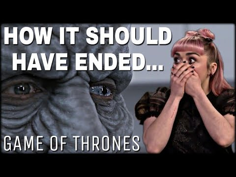 Maisie Williams Interview: She Revealed 'The Original Game of Thrones Ending!' - Game of Thrones S8