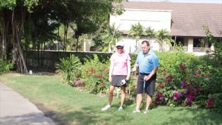 David & Karen discuss nearest point relief options when you ball ends up on a cart part