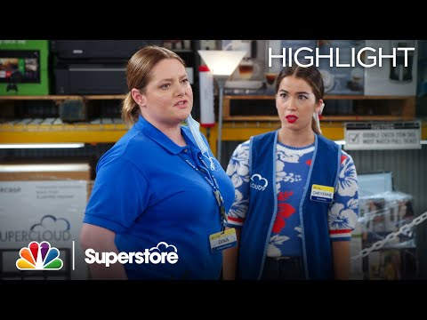 Cheyenne Won't Be Dina's Puppet - Superstore