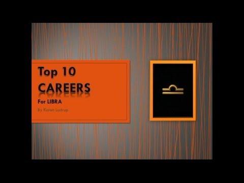 Top 10 Careers for LIBRA by Karen Lustrup