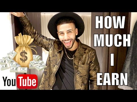 HOW MUCH MONEY I MAKE FROM YOUTUBE!! **The Truth**