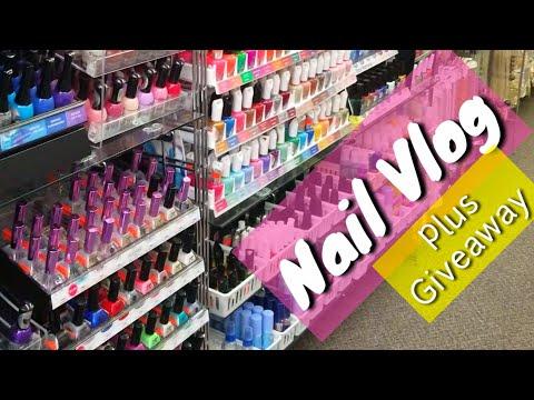 Nail salon - Vlog with Me  Nail vlog