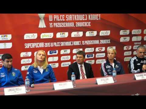 Konferencja prasowa przed Superpucharem Polski