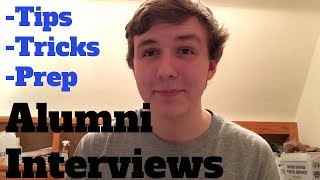 My Experience with the Alumni Interview - What to Expect, Tips and Tricks - Applying to Colleges #16
