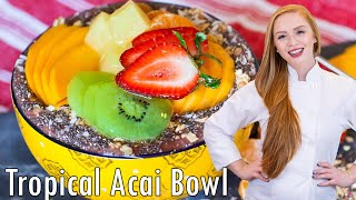 Tropical Acai Bowl by Tatyana's Everyday Food