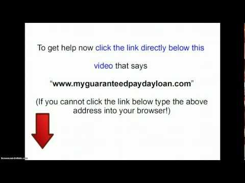 Bad credit payday loans- payday loans for bad credit!