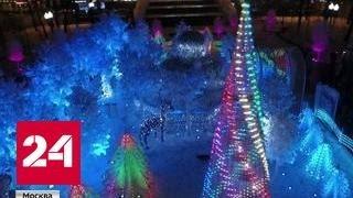 Столица готовится к путешествию в Рождество
