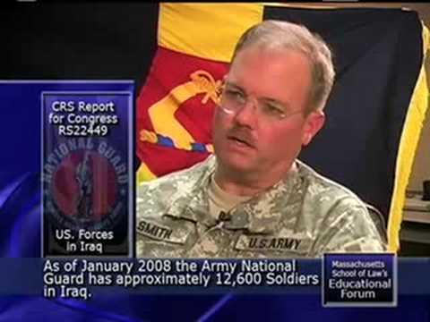 Hat der Irak-Krieg die Nationalgarde überfordert?