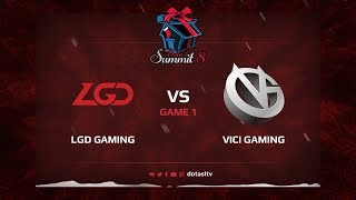LGD Gaming против Vici Gaming, Первая карта, Квалификация на Dota Summit 8
