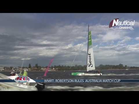 World Match Racing Tour: Robertson rules Australia Match Cup