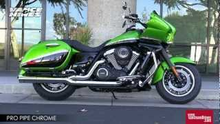 8. Pro Pipe Chrome for 2012 Kawasaki Vulcan 1700 Vaquero